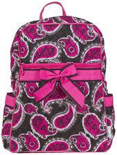 Paisley Womens Quilted Backpack Purse Rucksack Handbag Fashion Cloth Small Bag