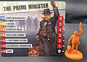 Zombicide 2nd Edition The Prime Minister w/card CMoN