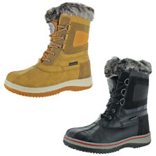 Revelstoke Men's Drydock Duck Toe Faux Fur Winter Snow Boots
