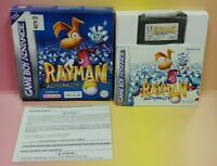 Rayman Nintendo Game Boy Advance Complete Tested 2001 ~ Rare PAL EUR UK Import
