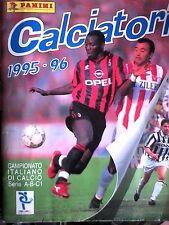 album calciatori panini 1995/96 completo
