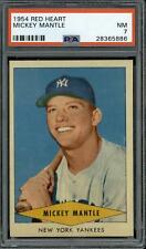 1954 Red Heart # Mickey Mantle PSA 7