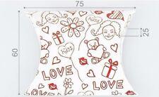10 piccoli gioielli, dolci, Matrimonio, romantico Pacchetto, scatole 6 CM x 7.5 CM x 2.5 cm.