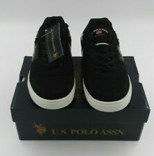 US POLO ASSN. BOY'S PHASE LO X SYNTHETIC ATHLETIC Size 2.5
