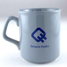 Made in England Ontario Hydro Teal Blue Mug K845
