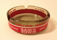 Vintage Sam's Town Casino Advertising Ashtray Trinket Dish L 106