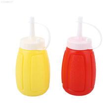 3F22 Bottle 200ML Condiment Ketchup Squeeze Mustard Oil Bottle Plastic