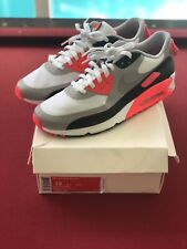 "Nike Air Max 90 V SP ""Patch"" White Grey Infrared Pink Black 746682-106 Size 13"