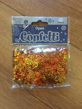 Confetti - Table Confetti - golden yellow and orange stars and ribbons - 14g