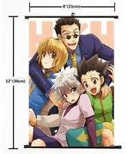 Anime Hunter X Hunter Killua Gon Kurapika home decor Wall Scroll Poster 2468