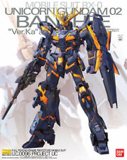 Bandai Hobby Gundam Unicorn 02 Banshee Ver. Ka MG 1/100 Model Kit USA Seller