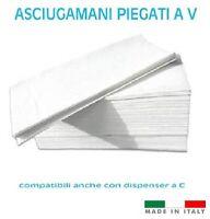 6300 ASCIUGAMANI DI CARTA MONOUSO PIEGATO a V PER INTERCALATI COMPATIBILE a C