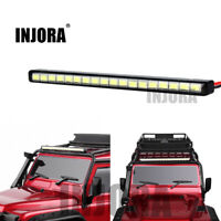 18 LED Light Lamp Roof Bar w/ Switch for 1/10 RC Crawler Car Traxxas TRX4 125MM