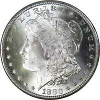 1880 S Morgan Dollar BU Very Choice Uncirculated Mint State 90% Silver $1 Coin