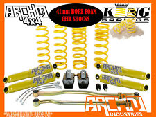 "NISSAN PATROL GQ/GU 4"" INCH (100mm) ARCHM4X4 / COIL SPRINGS + DROP BOX LIFT KIT"