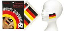 Deutschland Gesichtstattoo 2 Tattoos Flagge Schminkset Einmal Tattoo Weltmeister