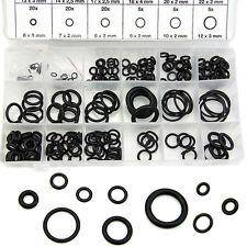 225PCS Gasket Automotive Seal Kit Universal Rubber O-Ring Assortment Set