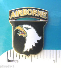 101st Airborne Screaming Eagles - hat pin , tie tac , lapel pin GIFT BOXED