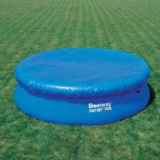 Pool Abdeckplane rund für Fast Set Pools 366 cm - Abdeckung für Rundpools
