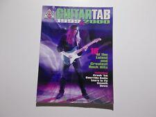 * Guitar Tab Songbook-1999 & 2000