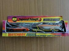 Matchbox Speed Kings K-29 KING SIZE LAMORGHINI MIURA BOAT TRAILER  NEU-OVP