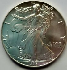 1998 American Silver Eagle $1 Pure Silver Coin GEM BU