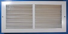 """Air Vent Grille Cover 15-3/4"""" x 7-3/4"""" White Metal 4MJW2"""