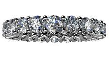 5.00 ct Ladies Round Cut Diamond Eternity Wedding Band Ring New Design on Ebay