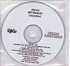 CD JEFF BUCKLEY LIVE AT SIN-E 4 TITRES LIVE !!!!!!
