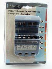 La Crosse RS1000 (BC1000) Original AA, AAA NiCd NiMh battery charger Alpha Power