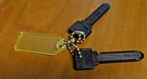 Vintage LOT OF 2  DATAKEY Key Storage Devices KSD 64A on Chain w/Tag