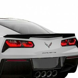 Corvette Chevy C7 Trunk Spoiler Gloss Black 2014 - 2019