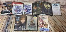 Kingdom Hearts 1 2 Chain of Memories PS2 PlayStation 2 Case & Manual Only