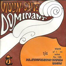 Corde à l'unité Violon DOMINANT VIOLIN SALTE - 129 1/4 - Mi