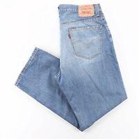 Vintage LEVI'S 559 Blue Denim Relaxed Straight Jeans Mens W36 L30