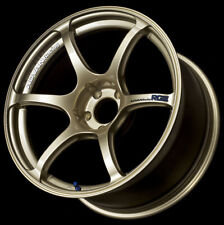 4x Advan Rgiii Racing 18x95 45 5x1143 Gold Set Of 4 Wheels Rims 05 Sti