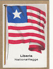 DRAPEAU LIBERIA National Africa Afrique FLAG CARD 30s