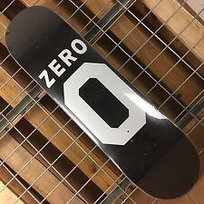 New Zero Numero Zero R7 Black/White Skateboard Deck - 8.25in
