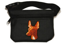 Pharaoh Hound embroidered Dog treat pouch/bag - for dog shows