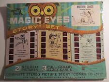 Sawyer Tru-Vue Magic Eyes Disney Mother Goose Story Set MOC