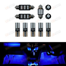 BLUE Premium Interior LED Kit - Fits Seat Leon MK1 - Bright SMD