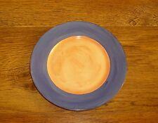 """JAMMET SEIGNOLLES Limoges (France) """"Swing"""" côté bleu/Peach Plaque (env. 7.5"""")"""