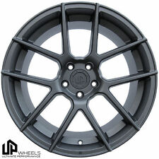 "19"" UP520 GUNMETAL 19x8.5/9.5 STAGGERED 5x112 WHEELS RIMS MERCEDES S SL SLK AMG"