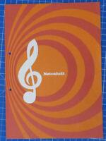 Notenheft Prospekt mit kleiner Instrumentenkunde (Faltblatt) B-19571