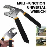 "8"" Multi-function Universal Adjustable Wrench Vintage Hexagon Socket Spanner"