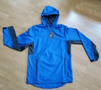 Nike Woven 1/4 Zip Hooded Jacket Men's Size Small 707185-466 NWT $80 Blue S