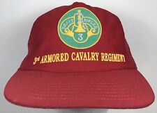 3rd Armoured Cavalry Regiment Hat Brave Rifles Trucker Cap US Army
