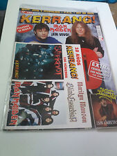 "REVISTA ""KERRANG! NUMERO 100"" EN MUY BUEN ESTADO IRON MAIDEN POSTER BLIND GUARDI"