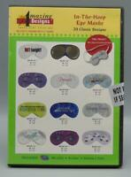 SEALED Amazing Designs Embroidery Solutions In-The-Hoop Eye Masks Design CD 2...
