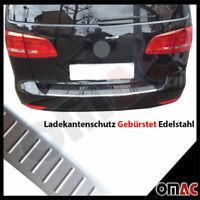 Für VW Touran Facelift II 2010-2015 Ladekantenschutz Gebürstet V2A mit Abkantung